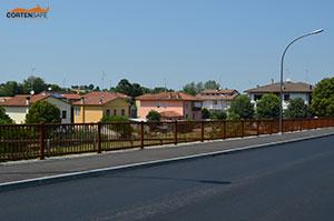 Cortensafe-parapetto-Falcade-acciaio-corten-protezione-pedoni-ciclisti-San-Lorenzo-in-Noceto