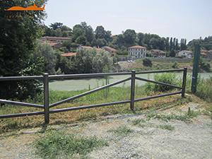 Cortensafe-staccionata-recinzione-Cadore-acciaio-corten-delimitare-aree-parchi-giardini