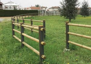 recinzione in CortenSafe a Solero, Alessandria. Piemonte.
